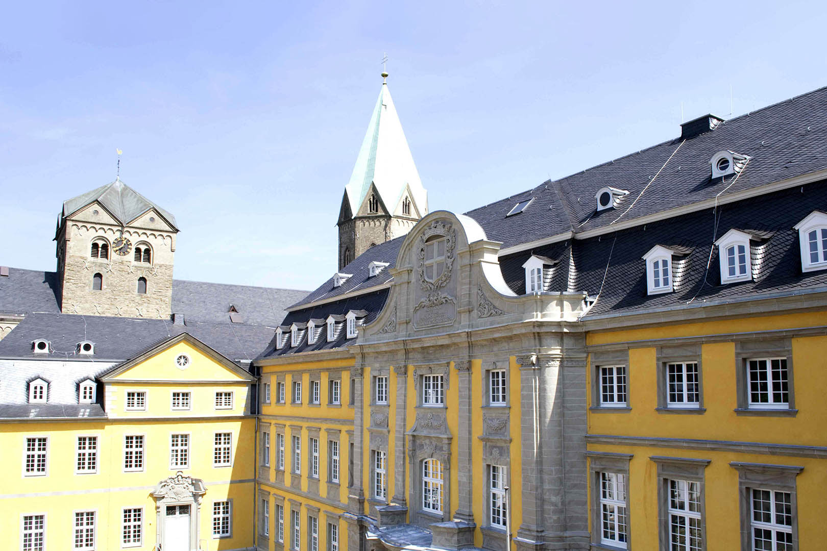 Old Abbey, Essen-Werden Campus, Folkwang University of the Arts. Photo: © Heike Kandalowski
