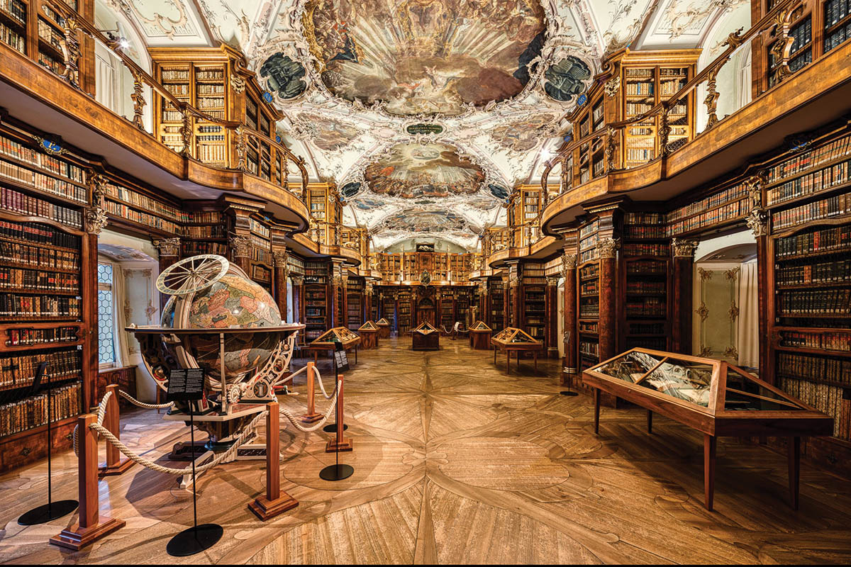 The Abbey Library St Gall | Welcome to one of the world's